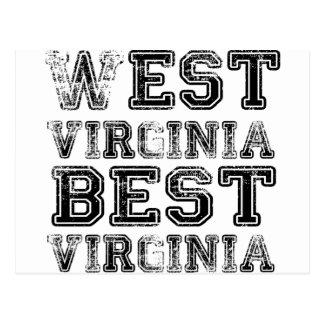 West Virginia Best Virginia Postcard
