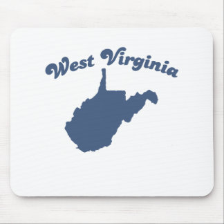 WEST VIRGINIA Blue State Mouse Pad