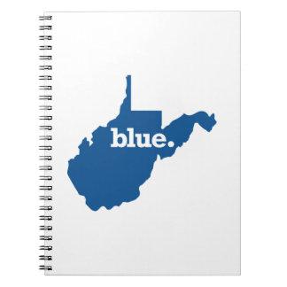 WEST VIRGINIA BLUE STATE NOTEBOOK