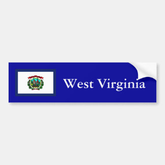 West Virginia Car Bumper Sticker