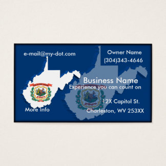 West Virginia Business Card