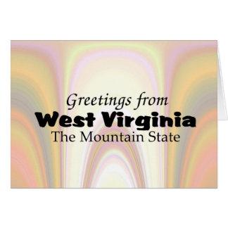 West Virginia Card