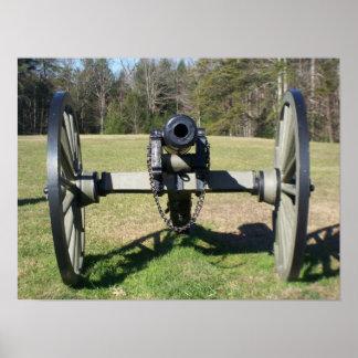 West Virginia Civil War Union Cannon Print