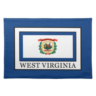 West Virginia Cloth Placemat