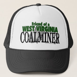 West Virginia Coalminer Trucker Hat