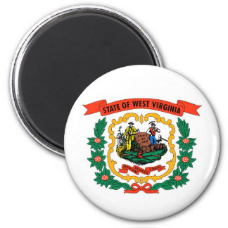 west virginia coat arms state flag united america 2 inch round magnet