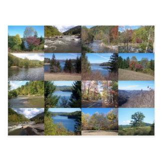 West Virginia Collage Postcard