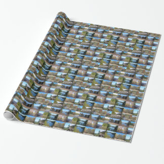 West Virginia Collage Wrapping Paper