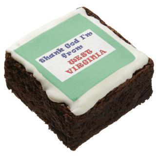 West Virginia Cookies Square Brownie