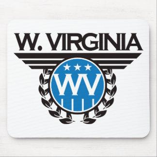 West Virginia Crest Design. Mouse Pad