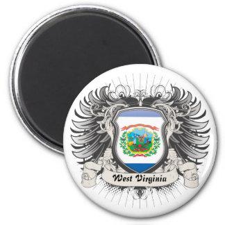 West Virginia Crest Refrigerator Magnets