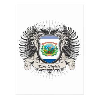 West Virginia Crest Postcard