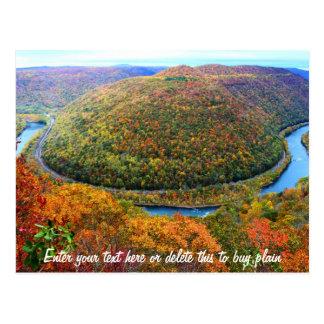 West Virginia Customizable Postcard