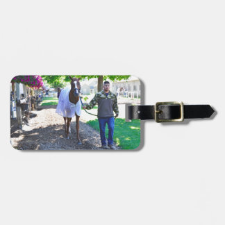 """West Virginia Derby Winner """"Madefromlucky"""" Bag Tag"""