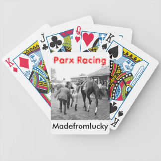 """West Virginia Derby Winner """"Madefromlucky"""" Bicycle Playing Cards"""