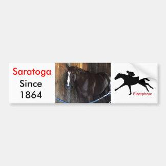 """West Virginia Derby Winner """"Madefromlucky"""" Bumper Sticker"""