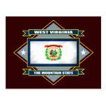 West Virginia Diamond Post Card