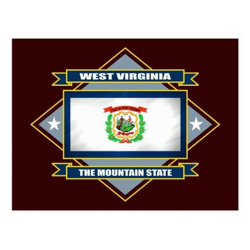 West Virginia Diamond Postcard