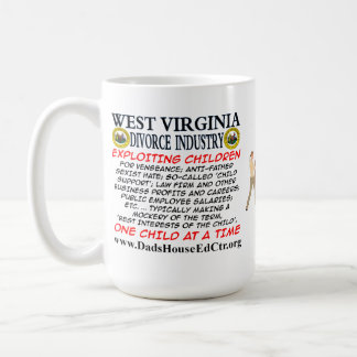West Virginia Divorce Industry. Mug