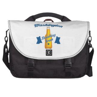 West Virginia Drinking team Commuter Bag