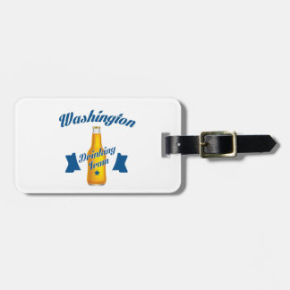West Virginia Drinking team Luggage Tag