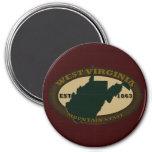 West Virginia Est. 1863 Fridge Magnets