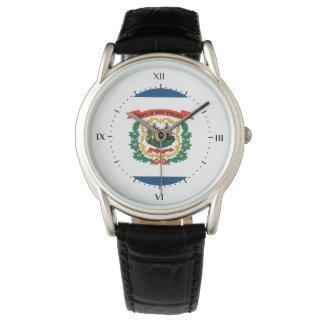 West Virginia flag, American state flag Wristwatch