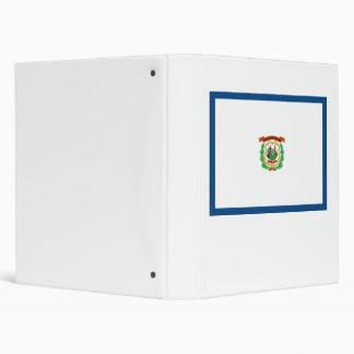 West Virginia Flag Binder