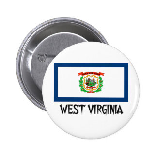 West Virginia Flag Pin