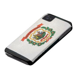 West Virginia Flag Case-Mate iPhone 4 Case