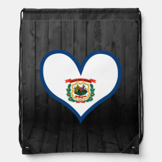 West+Virginia flag colored Backpack