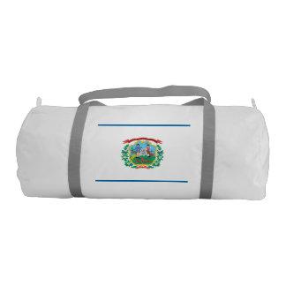 WEST VIRGINIA Flag Gym Duffel Bag