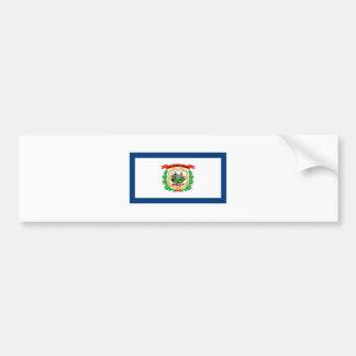 West Virginia FLAG International Bumper Sticker