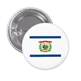 West Virginia FLAG International Pinback Button