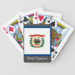 West Virginia Flag Playing Cards Bicycle Playing Cards