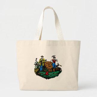 West Virginia Flag Theme 00 Jumbo Tote Bag