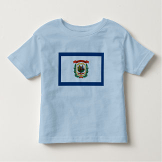 West Virginia Flag Toddler T-shirt