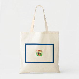 West Virginia Flag Tote Bag