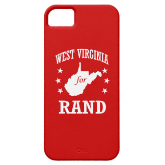 WEST VIRGINIA FOR RAND PAUL iPhone 5 CASE
