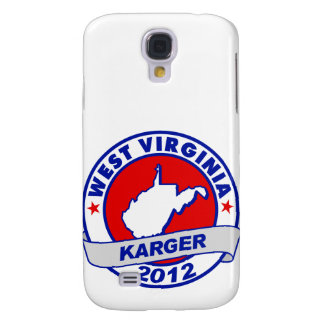 West Virginia Fred Karger Samsung Galaxy S4 Cases