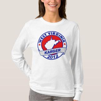 West Virginia Fred Karger T-Shirt