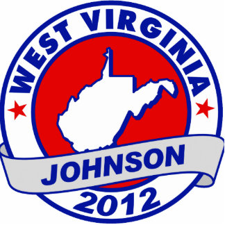 West Virginia Gary Johnson Photo Cutouts