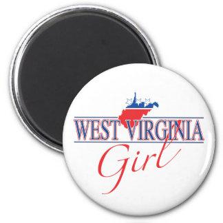 West Virginia Girl Magnet