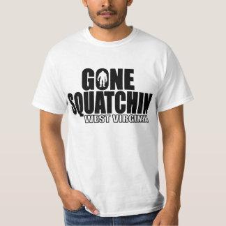 WEST VIRGINIA Gone Squatchin - Original Bobo T-shirt