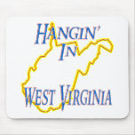 West Virginia - Hangin' Mouse Pad