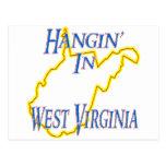 West Virginia - Hangin' Postcard
