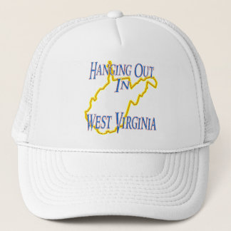West Virginia - Hanging Out Trucker Hat