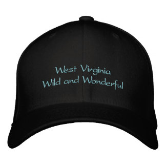 West Virginia hat Embroidered Baseball Caps