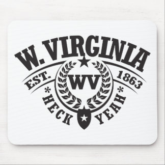 West Virginia, Heck Yeah, Est. 1863 Mouse Pad