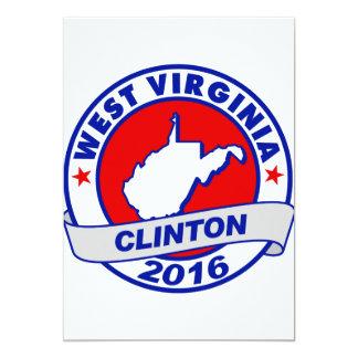 west virginia Hillary Clinton 2016.png Card